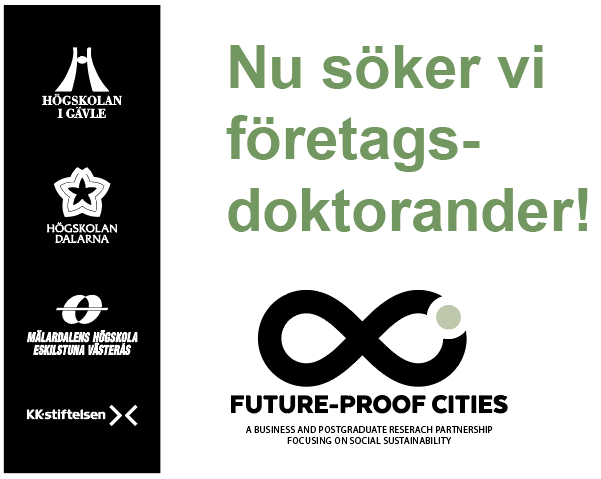 Future-Proof Cities söker doktorander